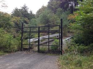 田代林道:ゲート封鎖