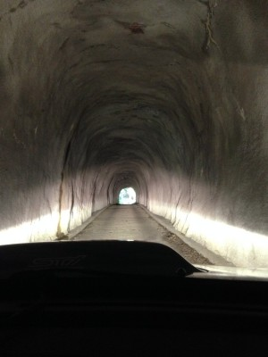 千倉線:トンネル