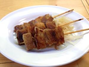 栄蔵:豚串