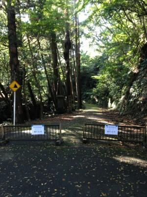 小松寺:通行止め1